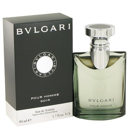 Bvlgari Pour Homme Soir by Bvlgari for Men Eau De Toilette Spray 1.7 oz at PalmBeach Jewelry