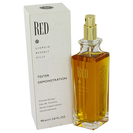 RED by Giorgio Beverly Hills for Women Eau De Toilette Spray (Tester) 3 oz at PalmBeach Jewelry