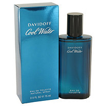 COOL WATER by Davidoff for Men Eau De Toilette Spray 2.5 oz