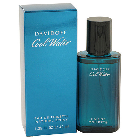 COOL WATER by Davidoff for Men Eau De Toilette Spray 1.35 oz at PalmBeach Jewelry