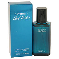 COOL WATER by Davidoff for Men Eau De Toilette Spray 1.35 oz