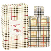 Burberry Brit by Burberrys for Women Eau De Parfum Spray 1.7 oz