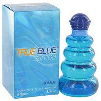 Samba True Blue by Samba for Men Eau De Toilette Spray 3.4 oz