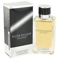 Silver Shadow by Davidoff for Men Eau De Toilette Spray 1.7 oz