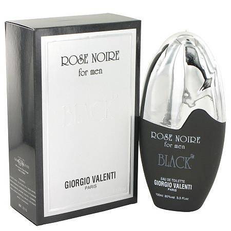 Rose Noire Black by Giorgio Valente for Men Eau De Toilette Spray 3.3 oz at PalmBeach Jewelry