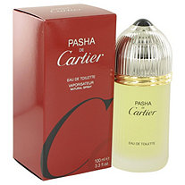 PASHA DE CARTIER by Cartier for Men Eau De Toilette Spray 3.3 oz