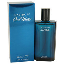 COOL WATER by Davidoff for Men Eau De Toilette Spray 4.2 oz