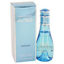 COOL WATER by Davidoff for Women Eau De Toilette Spray 1.7 oz