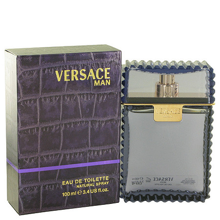 Versace Man by Versace for Men Eau De Toilette Spray 3.3 oz at PalmBeach Jewelry