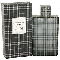 Burberry Brit by Burberrys for Men Eau De Toilette Spray 3.4 oz