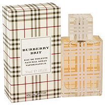 Burberry Brit by Burberry for Women Eau De Toilette Spray 1 oz.