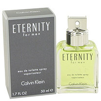 ETERNITY by Calvin Klein for Men Eau De Toilette Spray 1.7 oz
