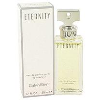 ETERNITY by Calvin Klein for Women Eau De Parfum Spray 1.7 oz
