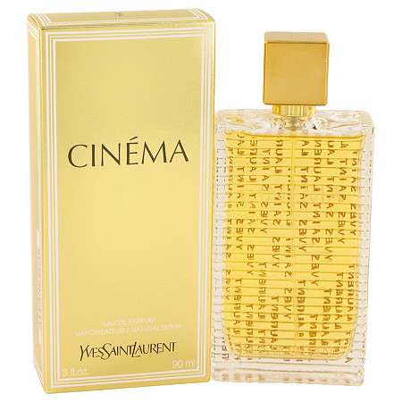 Cinema by Yves Saint Laurent for Women Eau De Parfum Spray 3 oz at PalmBeach Jewelry