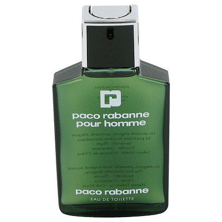 PACO RABANNE by Paco Rabanne for Men Eau De Toilette Spray (Tester) 3.4 oz at PalmBeach Jewelry