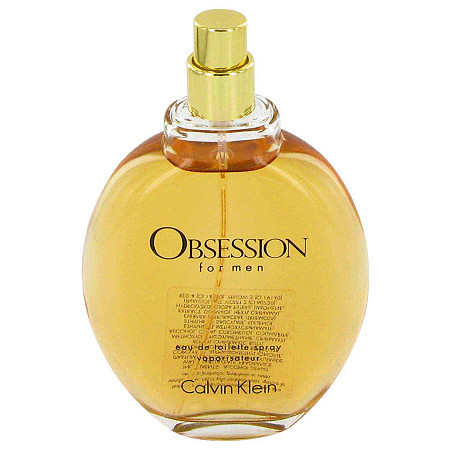 OBSESSION by Calvin Klein for Men Eau De Toilette Spray (Tester) 4 oz at PalmBeach Jewelry