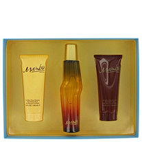 MAMBO by Liz Claiborne for Men Gift Set 3.4 oz Cologne Spray + 3.4 oz Body Wash + 3.4 oz Body Moisturizer