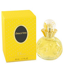 DOLCE VITA by Christian Dior for Women Eau De Toilette Spray 1.7 oz