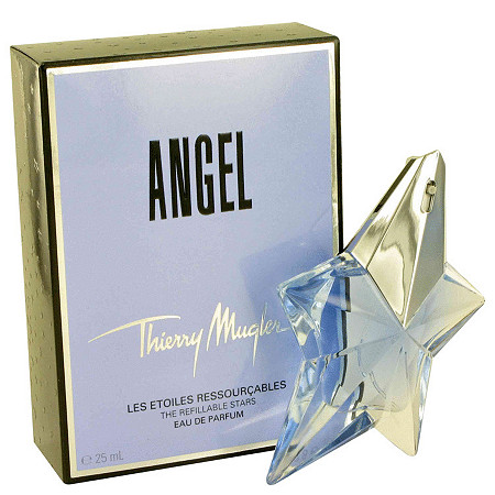 ANGEL by Thierry Mugler for Women Eau De Parfum Spray Refillable .8 oz at PalmBeach Jewelry