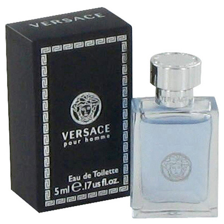 Versace Pour Homme by Versace for Men Mini EDT .17 oz at PalmBeach Jewelry