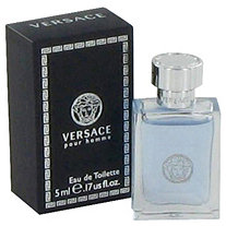 Versace Pour Homme by Versace for Men Mini EDT .17 oz