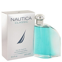Nautica Classic by Nautica for Men Eau De Toilette Spray 3.4 oz