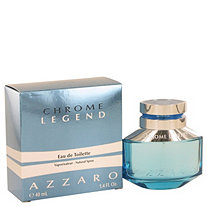 Chrome Legend by Azzaro for Men Eau De Toilette Spray 1.4 oz