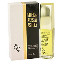 Alyssa Ashley Musk by Houbigant for Women Eau De Toilette Spray .85 oz