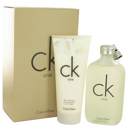 CK ONE by Calvin Klein for Men Gift Set -- 6.7 oz Eau De Toilette Spray + 8.5 oz Body Lotion at PalmBeach Jewelry