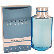 Chrome Legend by Azzaro for Men Eau De Toilette Spray 4.2 oz