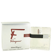 F by Salvatore Ferragamo for Men Eau De Toilette Spray 3.4 oz
