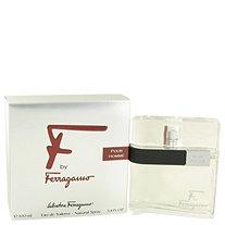 F by Salvatore Ferragamo for Men Eau De Toilette Spray 3.4 oz