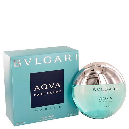 Bvlgari Aqua Marine by Bvlgari for Men Eau De Toilette Spray 3.4 oz at PalmBeach Jewelry