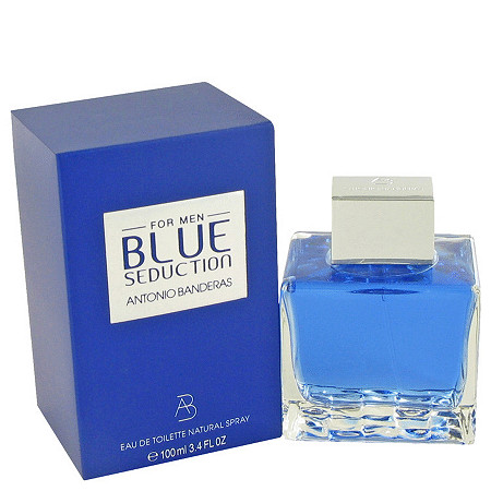 Blue Seduction by Antonio Banderas for Men Eau De Toilette Spray 3.4 oz at PalmBeach Jewelry