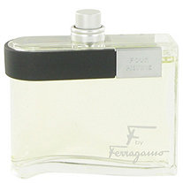 F by Salvatore Ferragamo for Men Eau De Toilette Spray (Tester) 3.4 oz