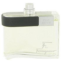F by Salvatore Ferragamo for Men Eau De Toilette Spray (Tester) 3.4 oz