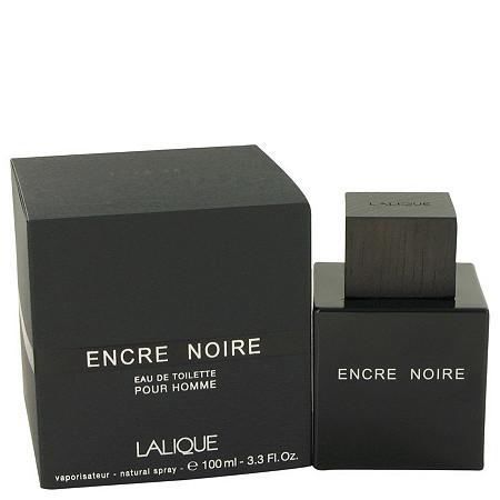 Encre Noire by Lalique for Men Eau De Toilette Spray 3.4 oz at PalmBeach Jewelry