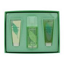 GREEN TEA by Elizabeth Arden for Women Gift Set -- 3.3 oz Scent Spray + 3.3 oz Body Lotion + 3.3 oz Bath and Shower Gel