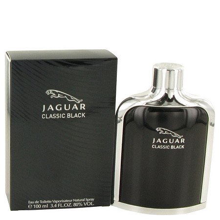 Jaguar Classic Black by Jaguar for Men Eau De Toilette Spray 3.4 oz at PalmBeach Jewelry