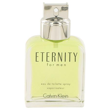 ETERNITY by Calvin Klein for Men Eau De Toilette Spray (Tester) 3.4 oz at PalmBeach Jewelry