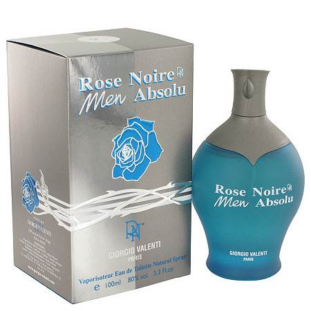 Rose Noire Absolu by Giorgio Valenti for Men Eau De Toilette Spray 3.4 oz at PalmBeach Jewelry