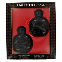 HALSTON Z-14 by Halston for Men Gift Set -- 4.2 oz Cologne Spray + 4.2 oz After Shave + In Display Box