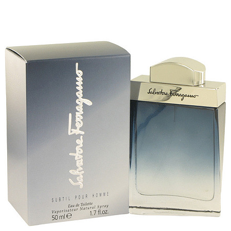 Subtil by Salvatore Ferragamo for Men Eau De Toilette Spray 1.7 oz at PalmBeach Jewelry