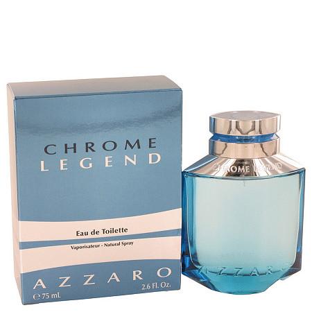 Chrome Legend by Azzaro for Men Eau De Toilette Spray 2.6 oz at PalmBeach Jewelry