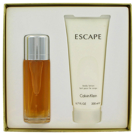 ESCAPE by Calvin Klein for Women Gift Set -- 3.4 oz Eau De Toilette Spray + 6.7 oz Body Lotion at PalmBeach Jewelry