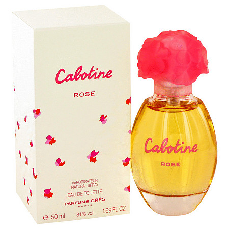 Cabotine Rose by Parfums Gres for Women Eau De Toilette Spray 1.7 oz at PalmBeach Jewelry