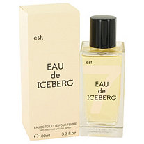 Eau De Iceberg by Iceberg for Women Eau De Toilette Spray 3.3 oz