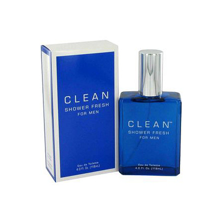Clean Shower Fresh by Clean for Men Eau De Toilette Spray 4 oz at PalmBeach Jewelry