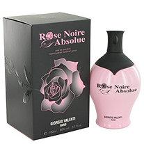 Rose Noire Absolue by Giorgio Valenti for Women Eau De Parfum Spray 3.4 oz