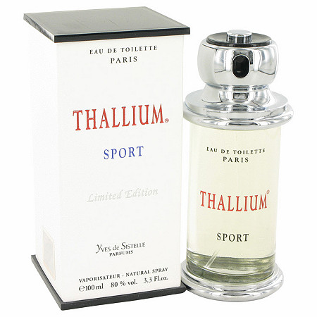 Thallium Sport by Parfums Jacques Evard for Men Eau De Toilette Spray (Limited Edituion) 3.4 oz at PalmBeach Jewelry